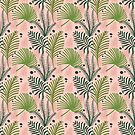 Palm Leaf Pattern  by scooterbaby