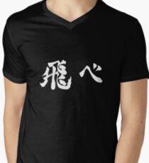 Camiseta para hombre de cuello en v MOSCA
