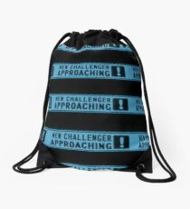 New Challenger Approaching Blue Drawstring Bag