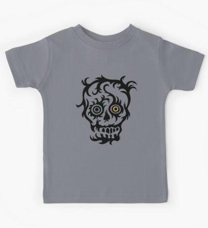 Skull Tattoo - on lights Kids Clothes