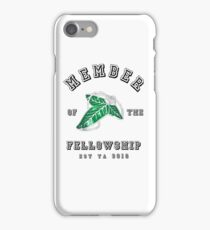 Fellowship (White Tee) iPhone Case/Skin