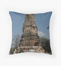 Ancient Chedi Throw Pillow