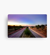 Hume Highway Canvas Print
