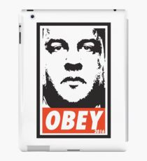 OBEY: CHRIS CHRISTIE iPad Case/Skin