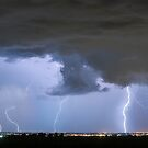 Lightning Striking Firestone Colorado 3 by Bo Insogna