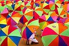 under my umbrella!! by Dinni H