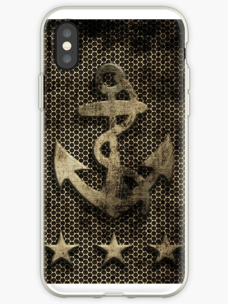 Vintage Rustic Nautical Anchor Stars by frittata