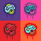 Gamer Gunk Pop Art von strangethingsA