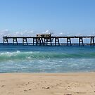 The Loading Pier Catherine Hill Bay by Janie. D