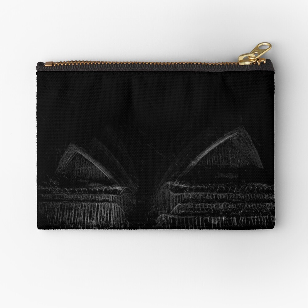 Opera House Zipper Pouch