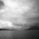 Clouds from the Ferry by Kathey  Sweeney