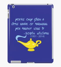Robin Williams quote iPad Case/Skin