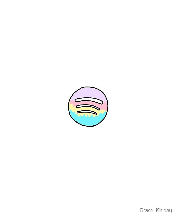 Aesthetic Spotify Logo Marble   aesthetic caption