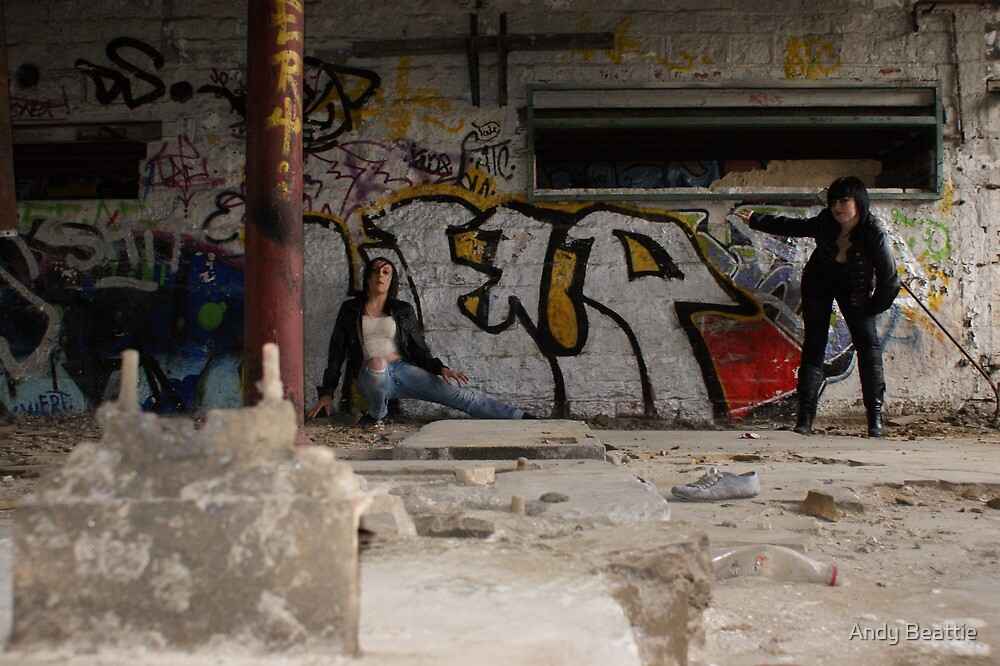 PhotoShoot in the old mill #033 by Andy Beattie