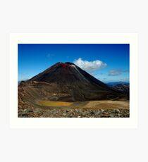 New Zealand's Volcanos Art Print