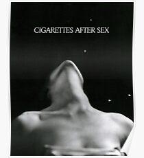 Zigaretten nach dem Sex Poster