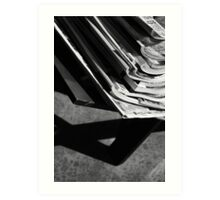 Trash Rack ... Art Print