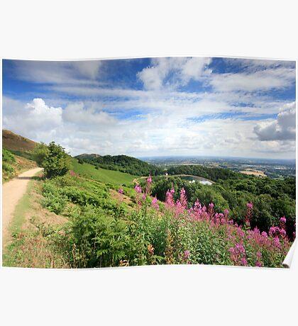 Malvern Hills : Glorious Summer Poster