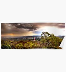 Storm Rolls Over Poster