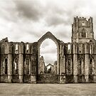 Fountains Abbey: North Yorkshire by LazloWoodbine
