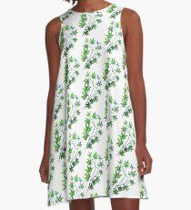 Maple Leaf Dance A-Line Dress