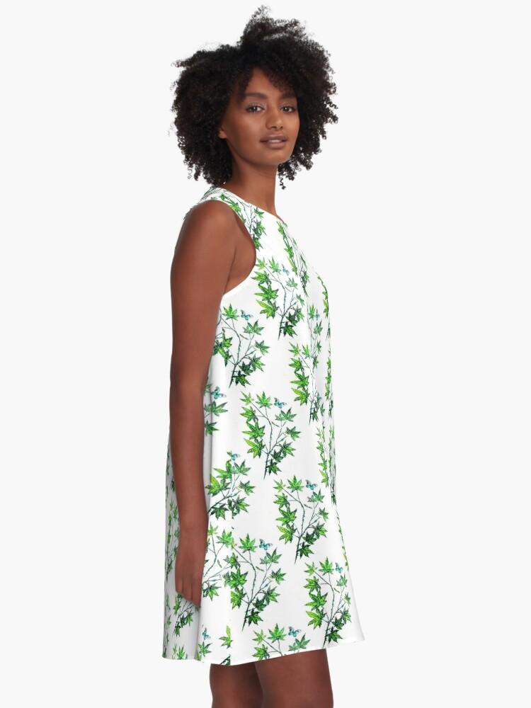 Alternate view of Maple Leaf Dance A-Line Dress