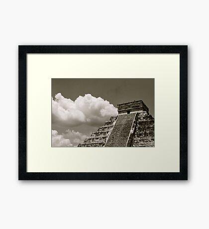 El Castillo Framed Print