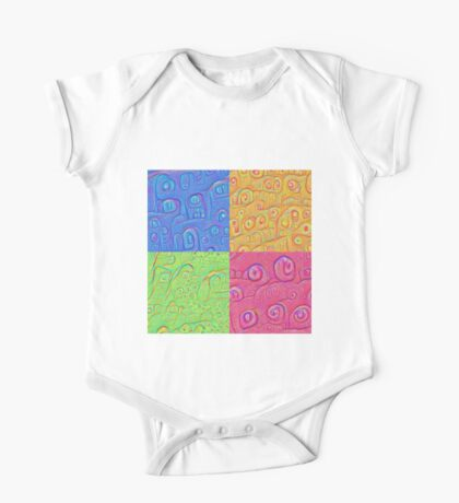 Deep Dreaming of a Color World 3K Kids Clothes