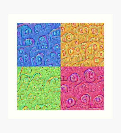 Deep Dreaming of a Color World 3K Art Print