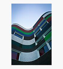 Coloured Flow Photographic Print