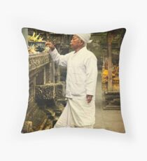 Sacred Ceremony Throw Pillow