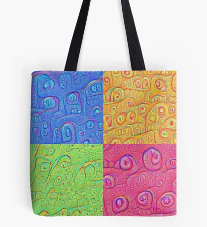 Deep Dreaming of a Color World 3K Tote Bag