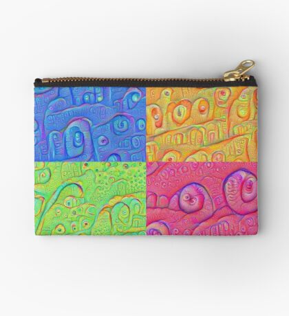 Deep Dreaming of a Color World 3K Studio Pouch