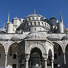 Dome of Blue Mosque-TURKEY by rasim1