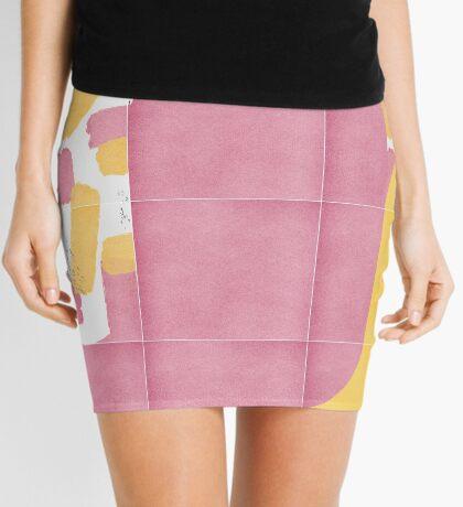 Bold Painted Tiles 02 #redbubble #midmod Mini Skirt