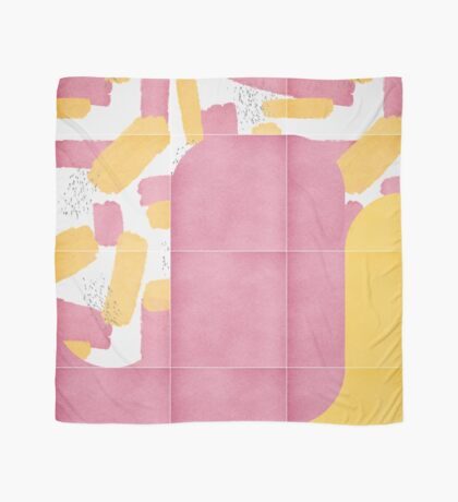 Bold Painted Tiles 02 #redbubble #midmod Scarf