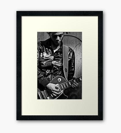 Sergio Framed Print