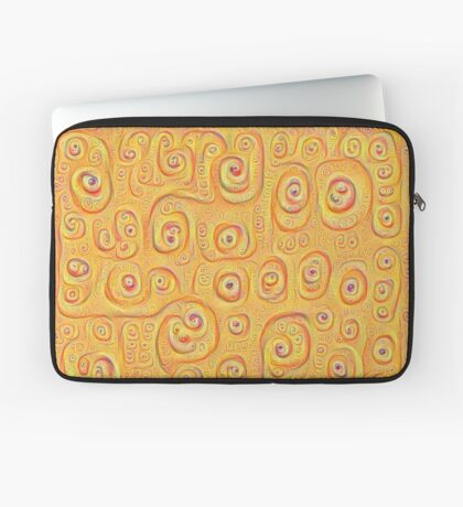 Deep Dreaming of a Yellow-Orange World 4K Laptop Sleeve