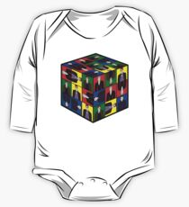 The Doctor's Cube One Piece - Long Sleeve