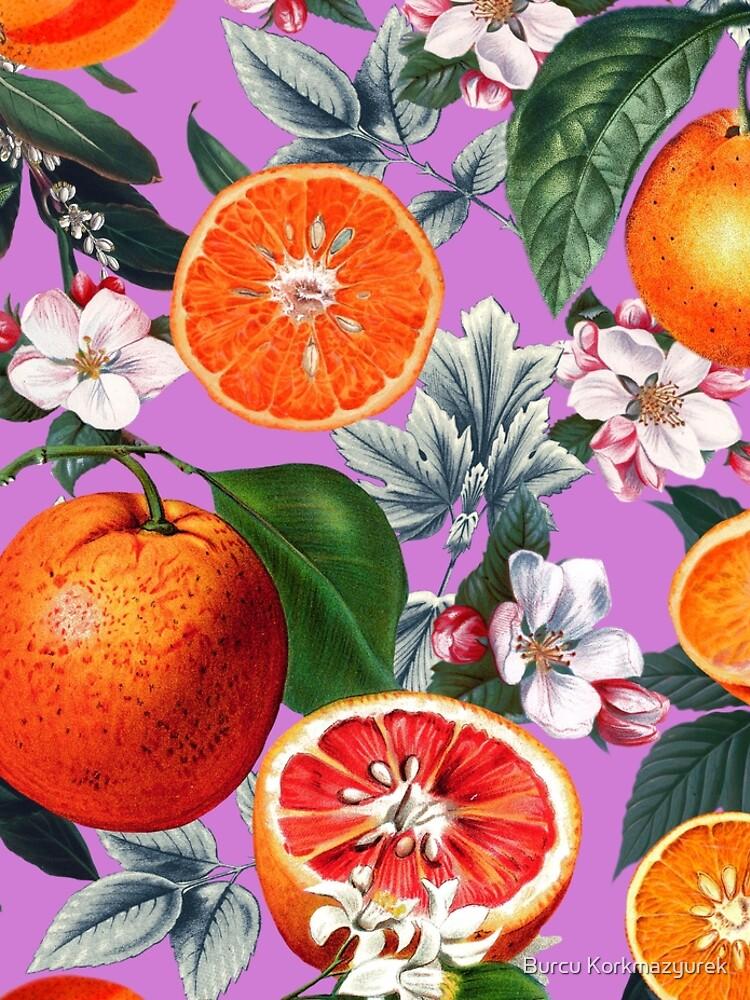 Weinlese-Frucht-Muster X von burcukyurek