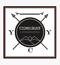 C. Town Skate Coat of Arms Photographic Print
