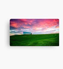 Sunset Over Arboretum Canvas Print
