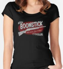 all new BOOMSTICK! Women's Fitted Scoop T-Shirt