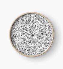 Schwarzes Muster-Design Uhr
