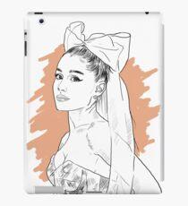 Bow tie singer drawing iPad Case/Skin