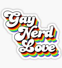 Gay Nerd Love: Afternoon Delight Sticker