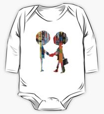 Radiohead albums Long Sleeve Baby One-Piece
