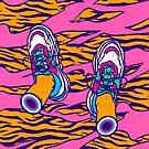 Pop sneakers by Evgenia Chuvardina