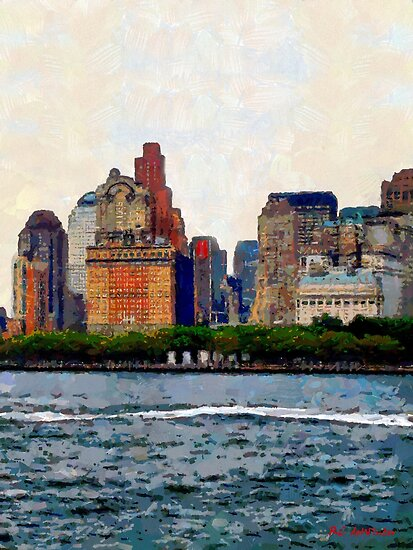 Downtown with Edward by RC deWinter