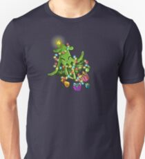 Undersea Christmas Tree Unisex T-Shirt
